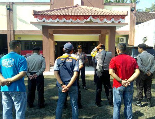 Rutinitas Apel Pagi hukum Wajib Bagi Anggota Polri