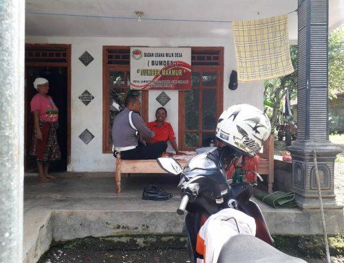 Bhabinkamtibmas Polsek Sumberbaru himbau warganya dukung Pilkada damai