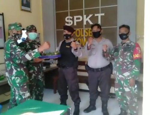 Ucapan Selamat Hari Bhayangkara ke 74 Dari Danramil 0824/04 Sukowono
