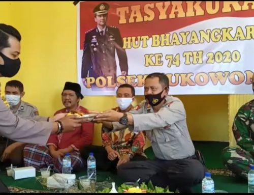 Kompak Danramil 0824/04 Sukowono Bareng Muspika Gelar Syukuran dan Doa Bersama Hari Bhayangkara Ke-74