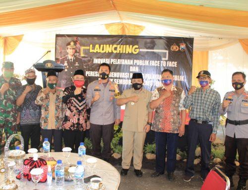 Kapolres Jember AKBP Aris Supriyono SIK MSI Melaunching Inovasi Terbaru Polres Jember