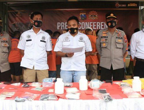 Kasat Narkoba Polres Jember Polda Jatim Ungkap Lahgun Narkoba dan Peredaran Okerbaya