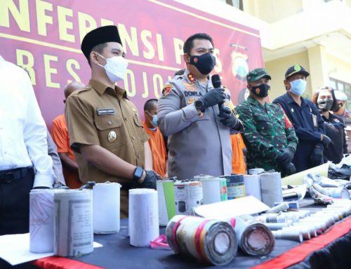 Gerebek 3 Home Industry Petasan, Polisi Sita 70 Kg Peledak dan Ribuan Petasan Siap Edar